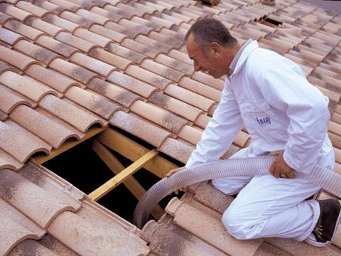 Fújható tetőszigetelés